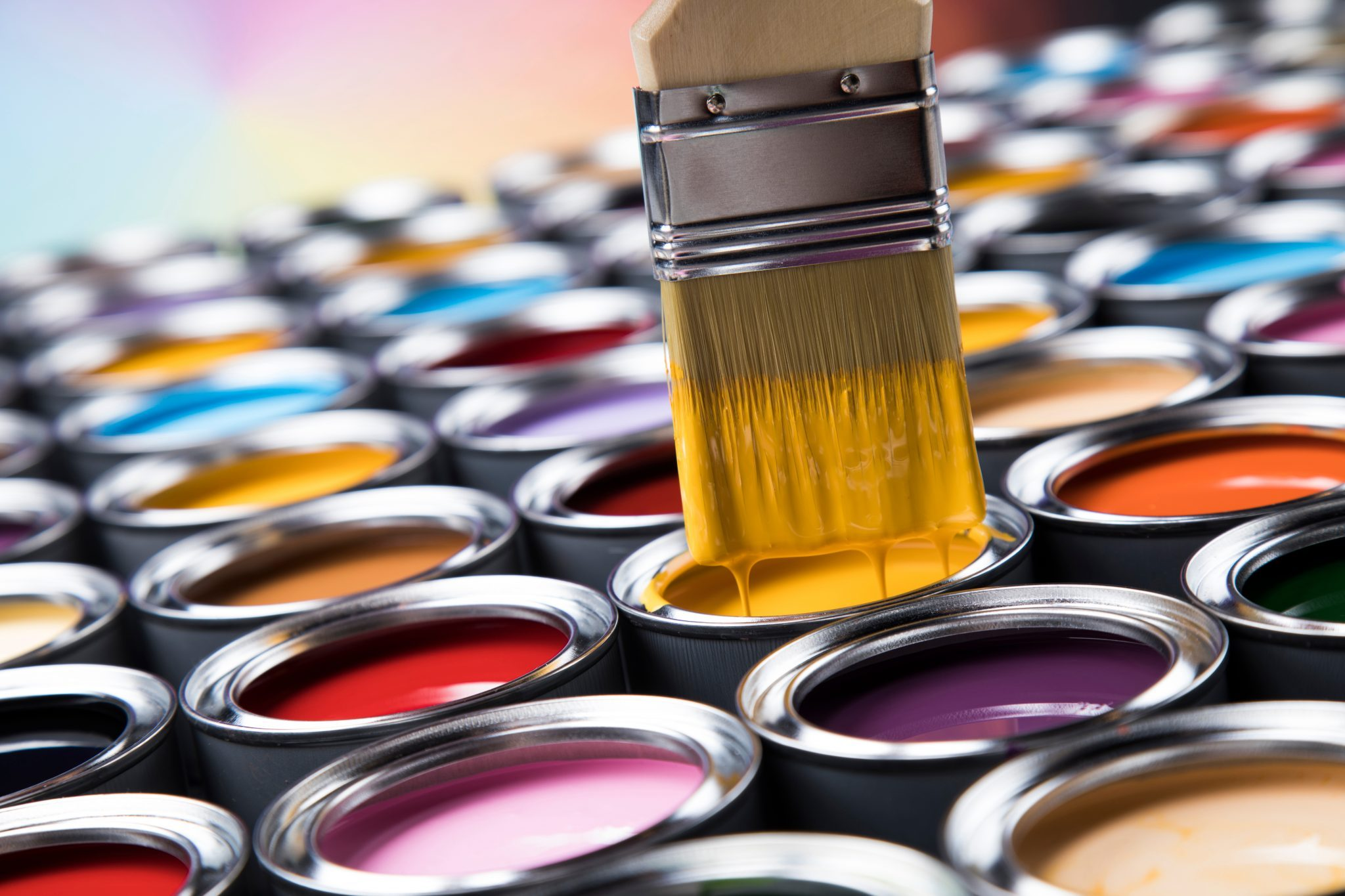Architectural coatings sales volume in Canada