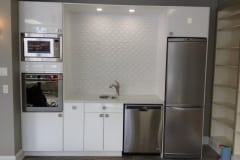 CanDo Renos - kitchen lighting and tiling