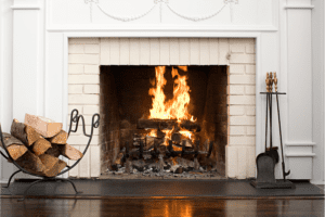 fireplace servicing