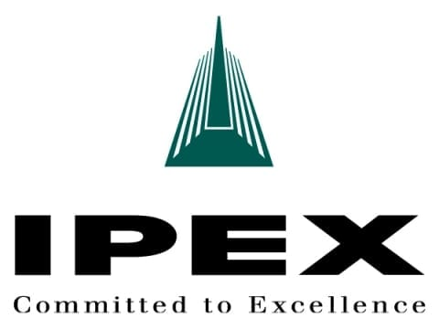 Ipex logo that read ''committed to excellence''